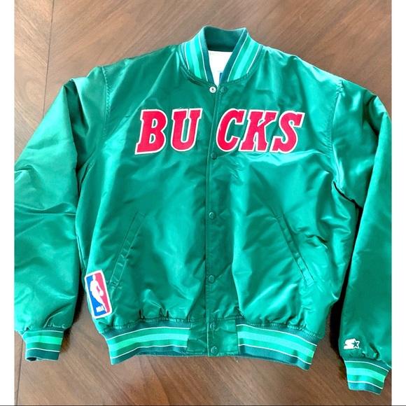 STARTER Other - Vintage Milwaukee Bucks Starter Jacket